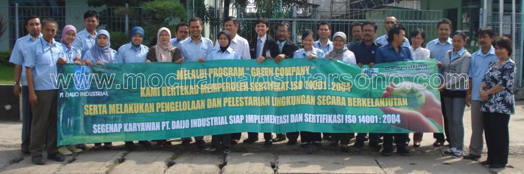 Konsultasi ISO 14001 - Daijo